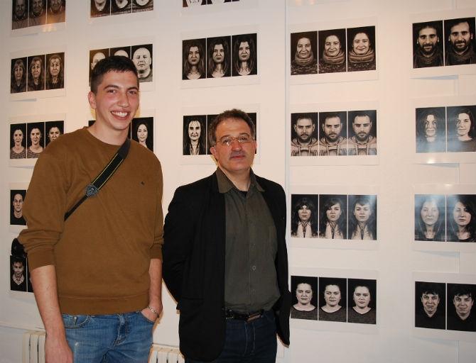 Alfonso González junto al alcalde de Astorga Arsenio García.