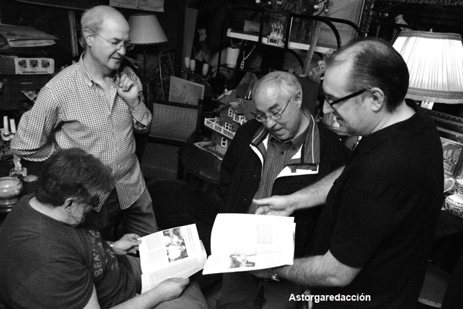 Reunión de los Ultramarinos en Cantareros 3.