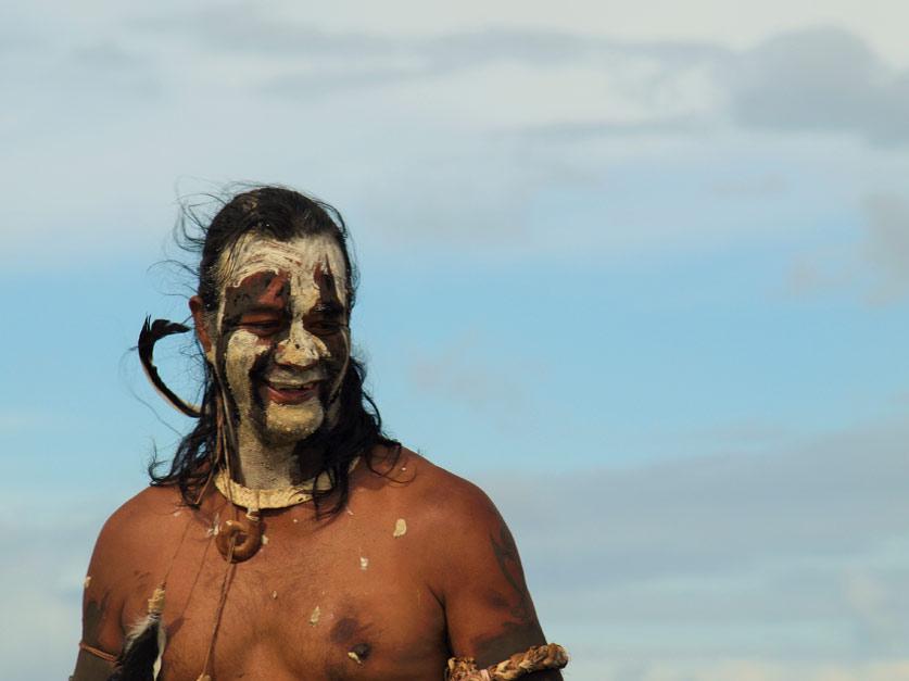 Haka Pei - Tapati en Isla de Pascua.
