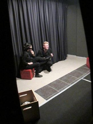 Acéfalo Narciso Teatro. Con Andrea Soto y Manuel Ortega.