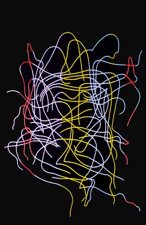 """""""Errantes"""". Una obra del artista leonés Esteban Tranche."""
