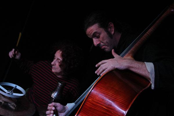 Chefa Alonso y Jorge Frías. Foto: María Caruncho.