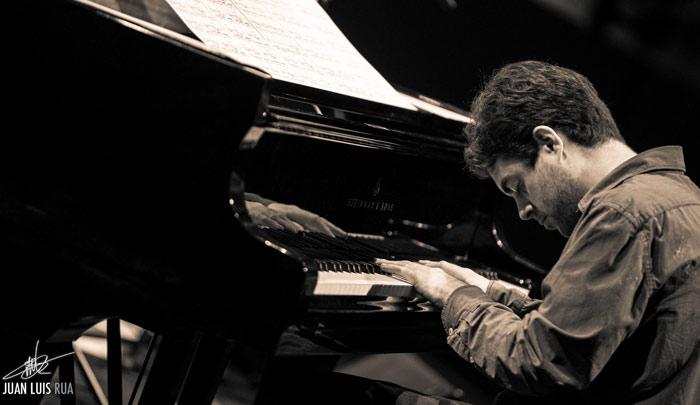 El pianista Yago Vázquez.