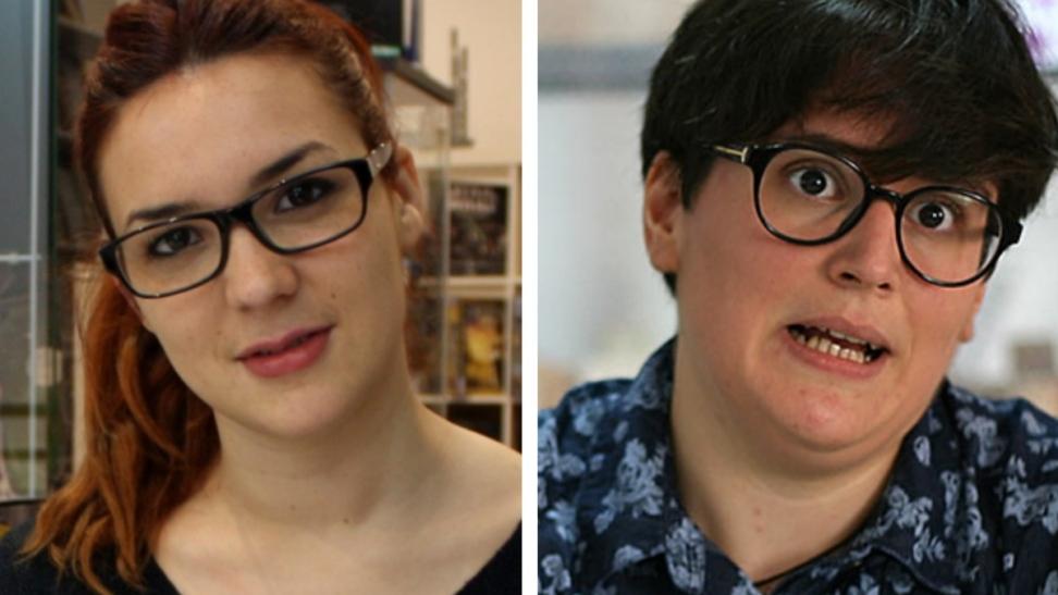 Ana Oncina y Carla Berrocal. Fotos: COMICPARATODOS / CLOUDERVIEW.COM