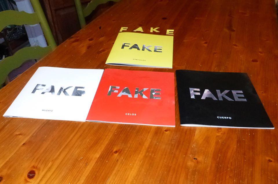 Los cuatro números de FAKE.