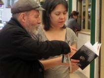 Karlotti y Ana Gorría en la Semana Salvaxe 2012. Foto: E. Otero.