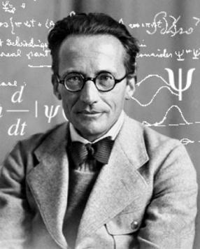 El físico austriaco Erwin Schrödinger.