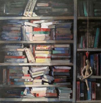 """Juan Manuel Bernardo. """"Librería IV""""."""