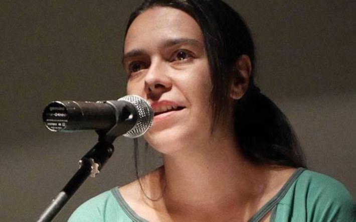 La poeta madrileña Ana Gorría.