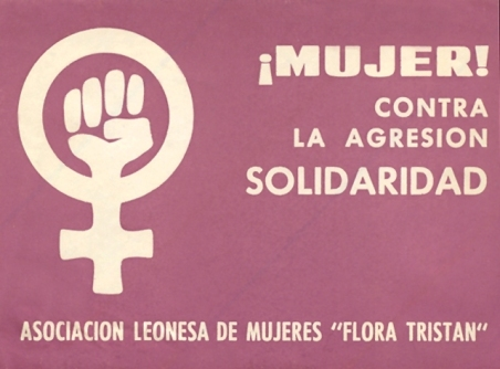 ¡Mujer! Contra la agresión SOLIDARIDAD. AFL Flora Tristán.