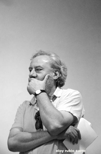 Julio Llamazares. © Fotografía: Eloy Rubio Carro