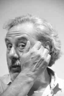 Julio Llamazares. © Fotografía: Eloy Rubio Carro.