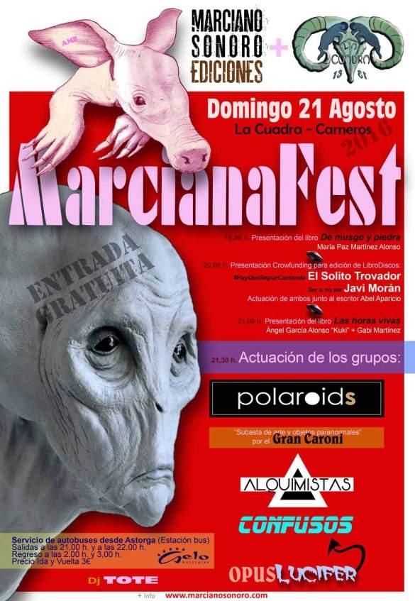 El cartel MarcianaFest 2016.