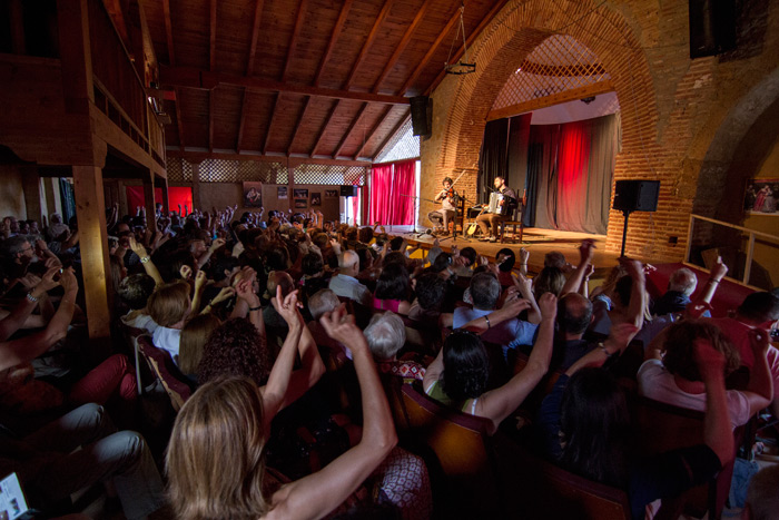 "FETÉN FETÉN, ""Cantables"", Teatro la Ermita de Valdunquillo 2016. © Fotografía: TOR."