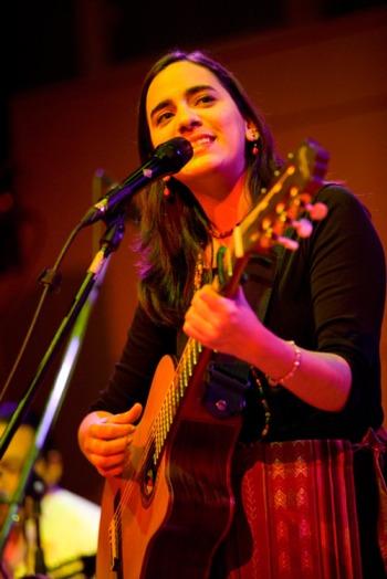 La cantante colombiana Marta Gómez.