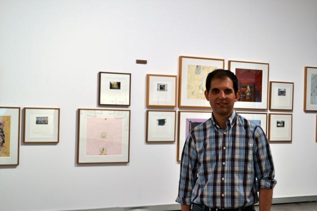 José Luis Viñas . Fotografía: Cortesía del Musac.