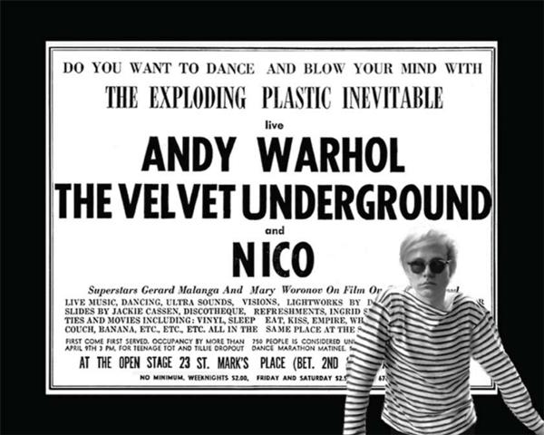 Ronald Nameth_Andy Warhol's Exploding Plastic Inevitable with The Velvet Underground & Nico_1967-2016. Ronald Nameth. Todos los derechos reservados.