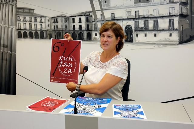 La concejala de cultura Margarita Torres durante la presentación del los dos eventos