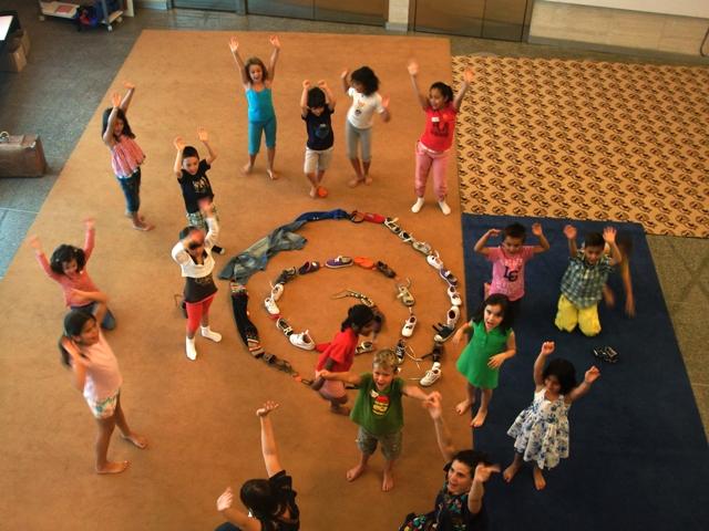 """Actividades infantiles de """"Pequeamigos"""", en el MUSAC"""