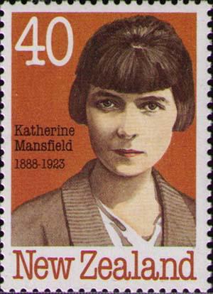 Sello de Katherine Mansfield.