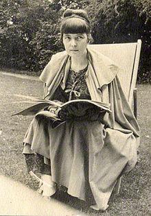 Katherine Mansfield en una imagen de 1917.