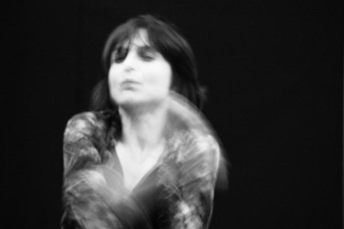 Cristina Samaniego. © Fotografía: Soledad Bezanilla.