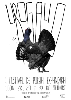 I Festival Urogallo. Cartel de Eduardo Fandiño.