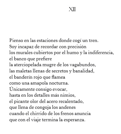 Poema de Mario Pérez Antolín.