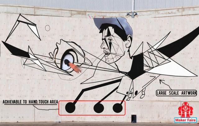 Propuesta de graffiti para una fachada.