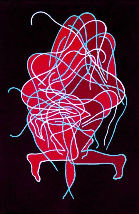 """""""Errantes 3"""". Una obra del artista leonés Esteban Tranche."""