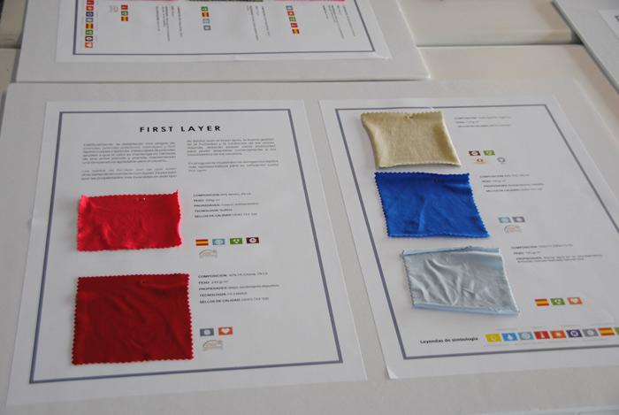 Nuevos materiales textiles de soporte tecnológico. Autor: CEARCAL.