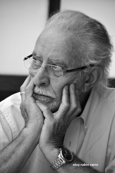 José María Merino. © Fotografía: Eloy Rubio Carro.