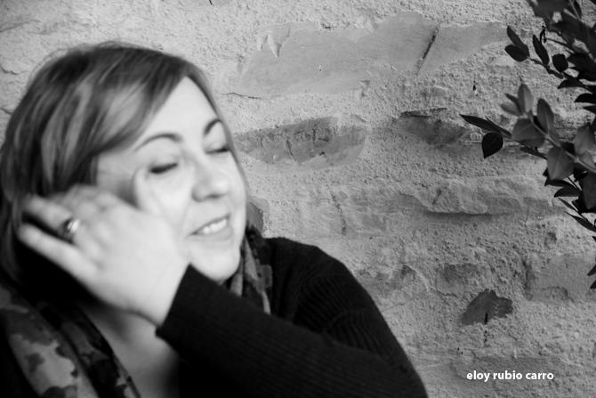 Nuria Cadierno. Fotografía: Eloy Rubio Carro.