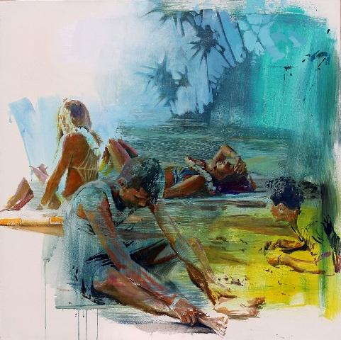 """Playa"". Beatriz Seijo"