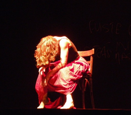 Cristina Samaniego en El Albéitar. Foto: E. Otero.