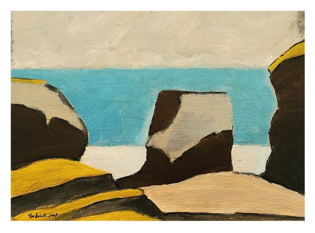 Una de las obras de la exposición de José Luis Rodríguez Tamargo.