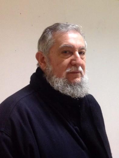 El poeta visual Gustavo Vega.