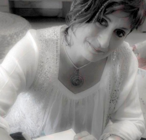 La escritora e ilustradora leonesa Nuria Antón Airún.