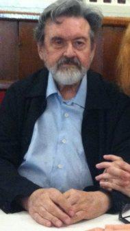 El pintor Pablo Gago, fotografiado el pasado 21 de septiembre de 2016 en el Café Gijón (Madrid).