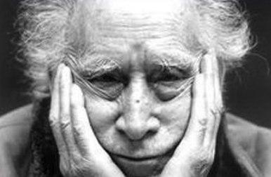 El poeta italiano Mario Luzi.