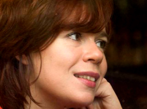 La poeta gallega María do Cebreiro.