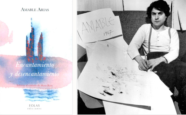 Portada del libro e imagen retrospectiva de Amable Liñán.
