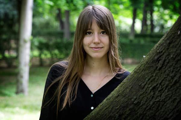 La poeta Ángela Segovia.