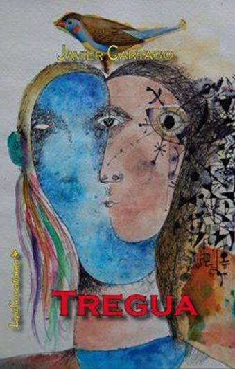 """Portada de """"Sin tregua"""", de Javier Cartago, sobre una ilustración de Juan Carlos Mestre."""