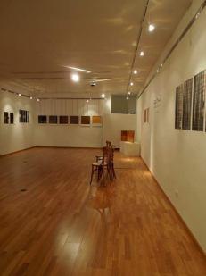 """""""El Hilo"""". Exposición de Isabel Fuentes. © Fotografía: CEARCAL."""
