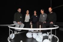 Estudio (s) sobre la Luna. Fotografía: Julia Liébana. 2016. Cortesía de Armadanzas / Aula de Artes del cuerpo (ULE)