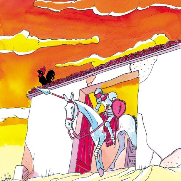 """""""Don Quijote de la Mancha"""". Miguel Ángel Martín"""