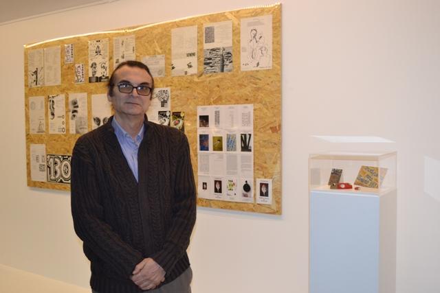 """Francisco Aliseda. Director y editor de la revista """"Veneno"""". Fotografía: Cortesía del Musac"""