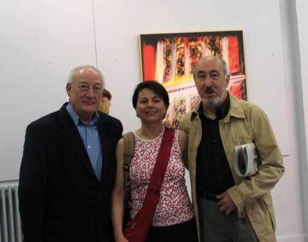 Alejandro Vargas, Teresa Jular y Manuel Jular.