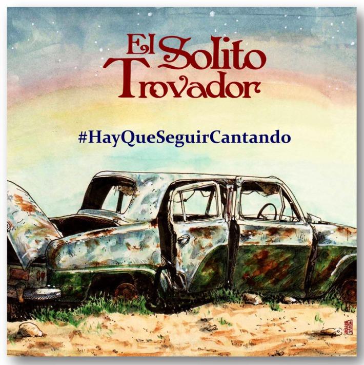 """Portada del disco """"El Solito Trovador"""""""